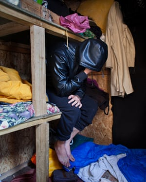 Wahid in the hut he shared with Raheemullah; his cousin's bed and clothes have been untouched.