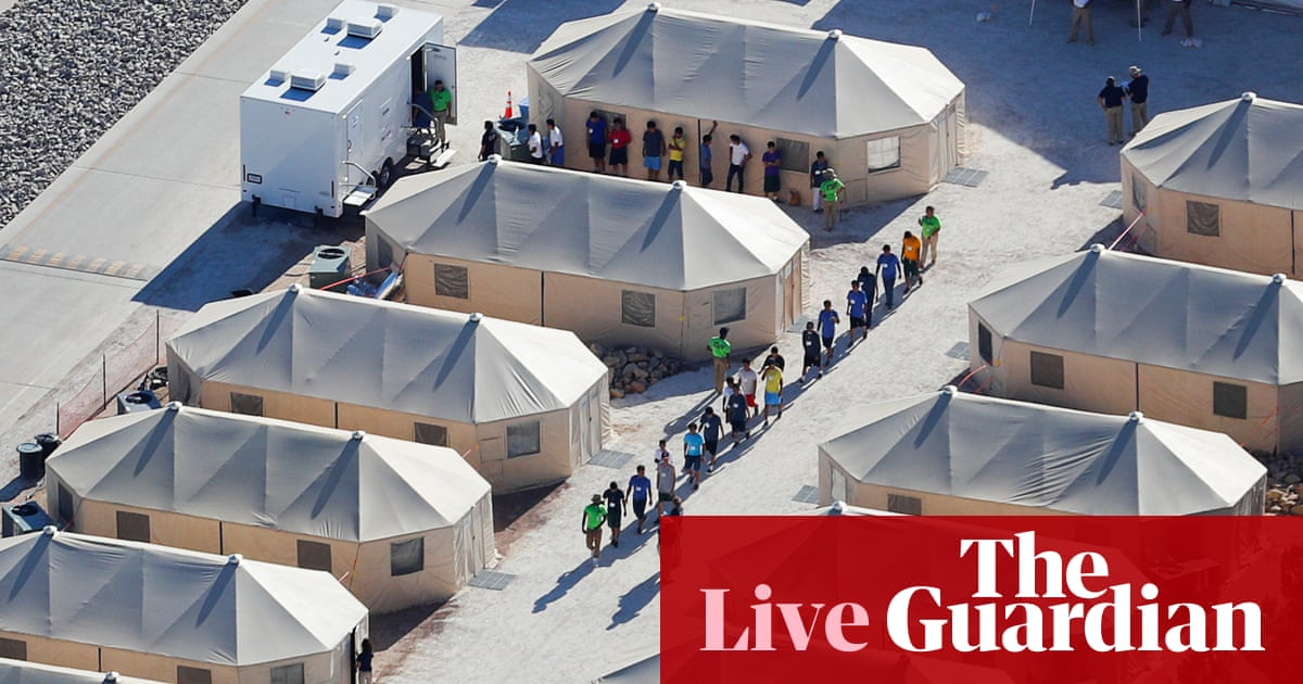 'Tender Age' Shelters for Children Stoke Outrage as Trump Turns to Congress