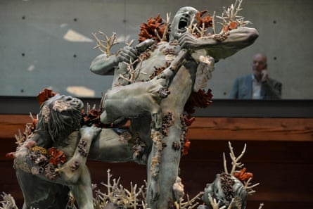 Cronos Devouring his Children by Damien Hirst, from Treasures from the Wreck of the Unbelievable in Venice.