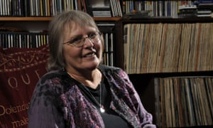 Judy Dyble in 2012. She returned to music-making in 2002 after a 25-year absence
