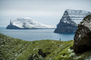 The Faroe Islands is the stunning backdrop to The Running Pastor.