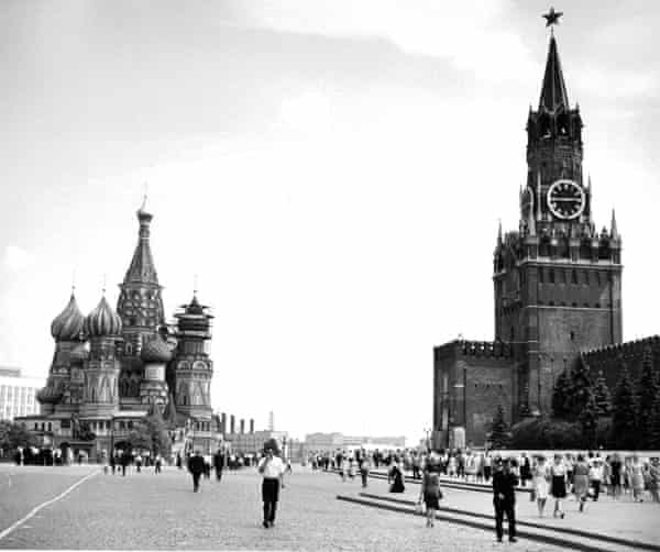 Red Square, Moscow, in 1950.