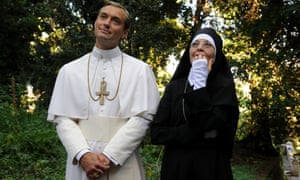 Magnificently original … Jude Law and Diane Keaton in The Young Pope.