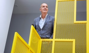 Kevin McCloud at a property in Haringey, London, that appeared on Grand Designs in July