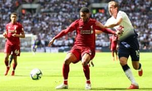 Joe Gomez successfully shackled Kane at Wembley.