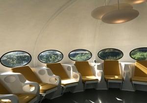 inside Craig Barnes' restored Futuro.