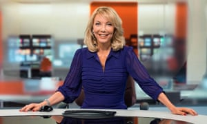 Alex Lovell in her role as a BBC Points West TV presenter