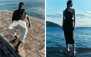 Summer sortedLooking for relaxed summer essentials? Cos's summer collection includes lightweight fabrics, linen and hemp draped into effortless throw-on shirt dresses, feminine blouses and recycled nylon swimwear, with a 90s minimalist aesthetic. Menswear nods to streetwear with wide-legged trousers and light, layered shirts. Prices start from £17, cosstores.com