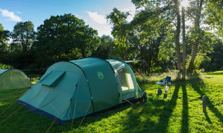 Camping at Crom, County Fermanagh