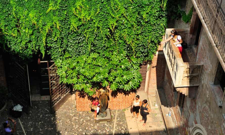 Casa di Giulietta will hopefully bring better fortune to all future lovers. Photograph: Alamy Stock Photo