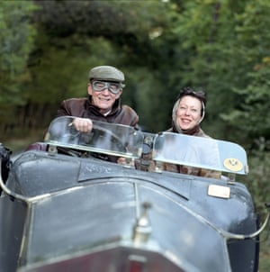 Playing Alan Clark in the Alan Clark Diaries with Jenny Agutter as Clark's wife Jane, 2004
