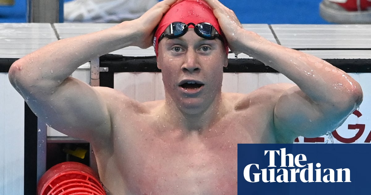 Britain's Tom Dean and Duncan Scott take Olympic gold and silver in men's 200m free