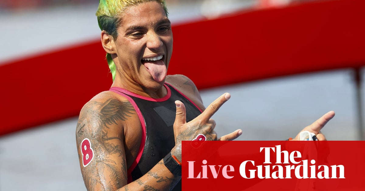Tokyo 2020 Olympics: marathon swimming, skateboarding, cycling and more – live!