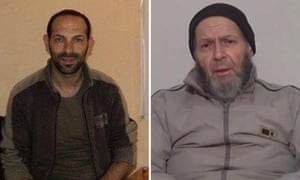 Giovanni Lo Porto, left, and Warren Weinstein, who were killed in US strike on an al-Qaida compound near the Afghanistan-Pakistan border.