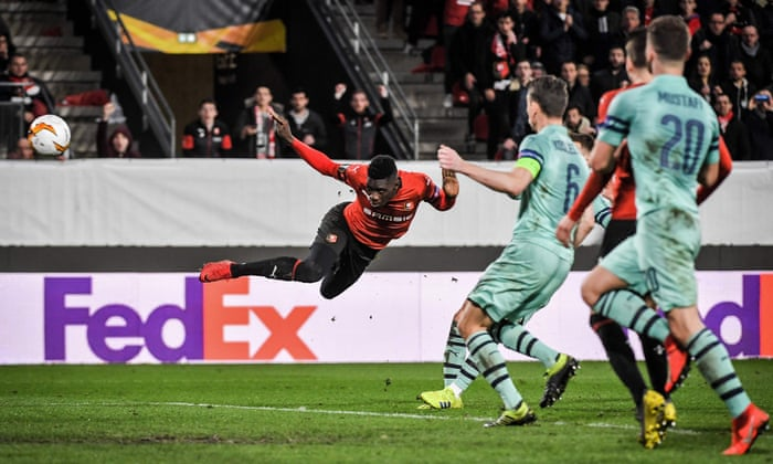 Image result for rennes vs arsenal