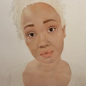 Tori Allen-Martin painted by Andrea Tyrimos bipolar Picasso portraits