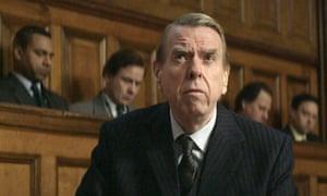 Timothy Spall as David Irving in  Denial.