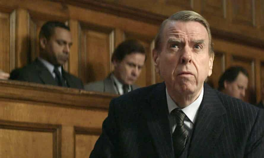 'Effectively repellent': Timothy Spall as David Irving.