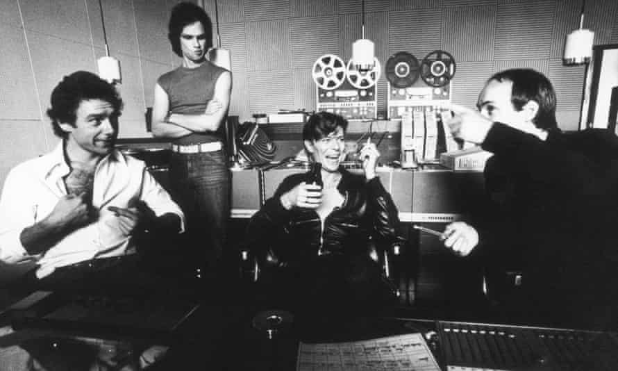 Hansa had an alchemical effect on the artists who recorded there … Brian Eno, Robert Fripp and David Bowie at the studios.