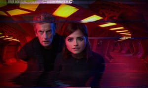 The Doctor and Clara in Sleep No More.