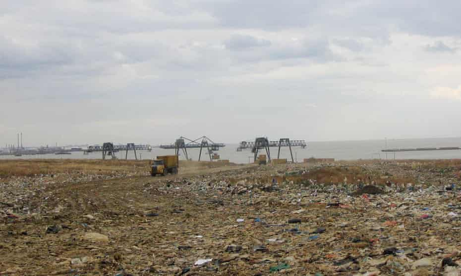 The park was once one of Europe's largest landfill sites.