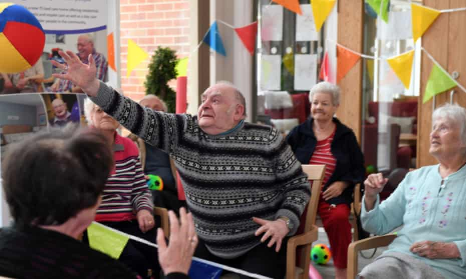 Oomph! Wellness provides sessions with care homes, day centres, housing associations and other community care providers.
