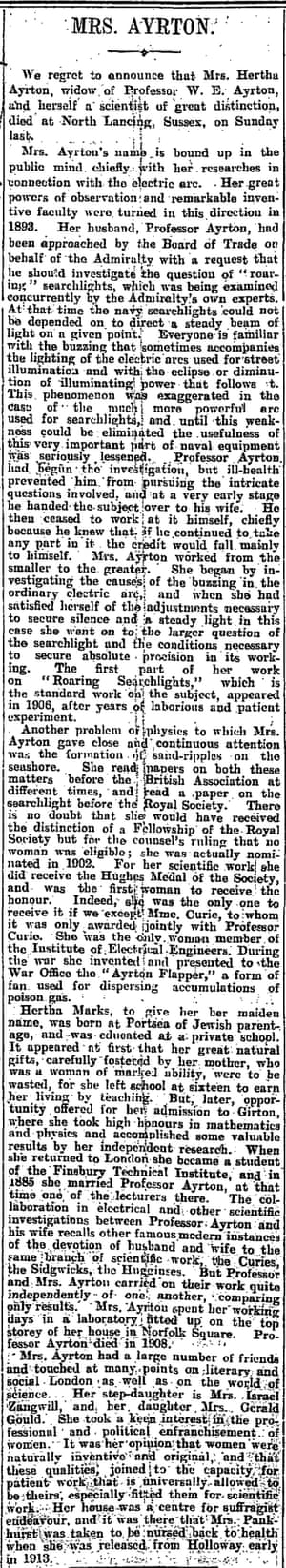 Manchester Guardian, 28 August 1923