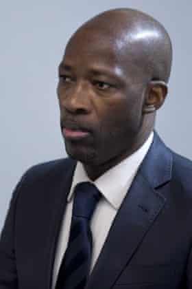 Former militia leader Charles Blé Goudé