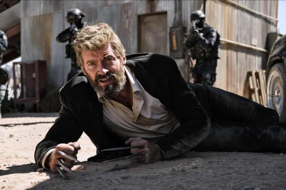 Hugh Jackman in Logan.