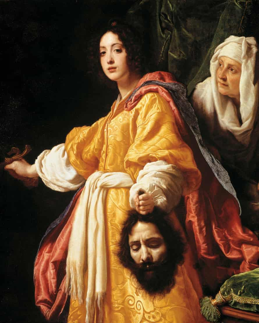 Judith with the head of Holofernes – the severed head is Cristofano Allori's own.