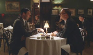 Jon-Hamm and Jared Harris in the Mad Men episode The Good News.