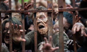 A scene from The Walking Dead. A new series for Channel 4 will cast young people as 'heroes [who] need to take on the old flesh-eating zombies'.