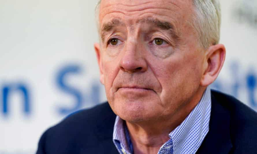 Ryanair CEO Michael O'Leary is one of the chief executives taking a 50% pay cut in April/May.