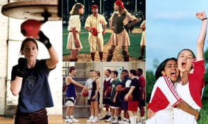 Slaying the field: Million Dollar Baby, A League of their Own, Hang Time and Bend It Like Beckham.
