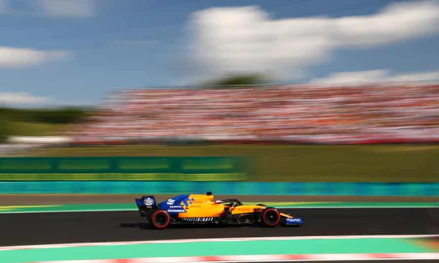 Carlos Sainz's McLaren took his second fifth place in a row in Hungary.