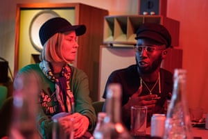 Kojey Radical and Róisín Murphy at a Guardian roundtable