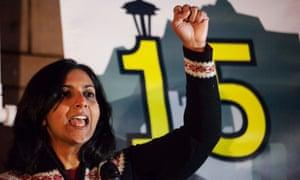 Washington state has passed union-backed progressive legislation recently, enacting a $15 an hour minimum wage.