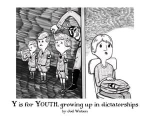 Y is for Youth, growing up in dictatorships