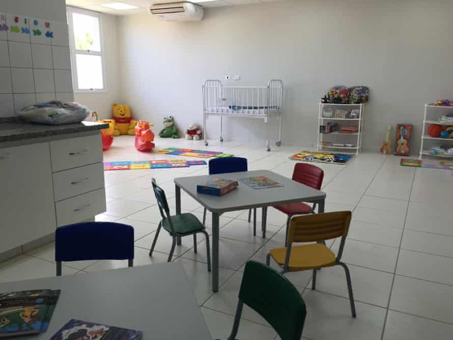 As well as support services, the centre also has a creche and temporary accommodation.