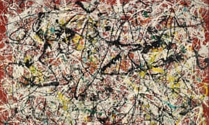 Jackson Pollock's Mural on Indian Red Ground