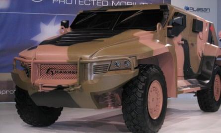 Hawkei armoured vehicle