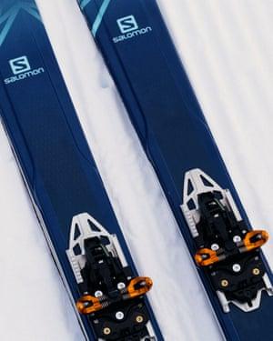 Zoe's skis