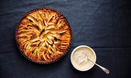Jeremy Lee's recipe for apple and almond tart