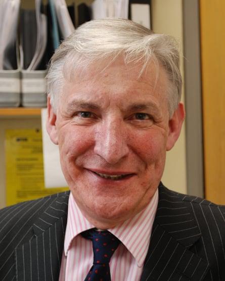 Prof James Malone-Lee.