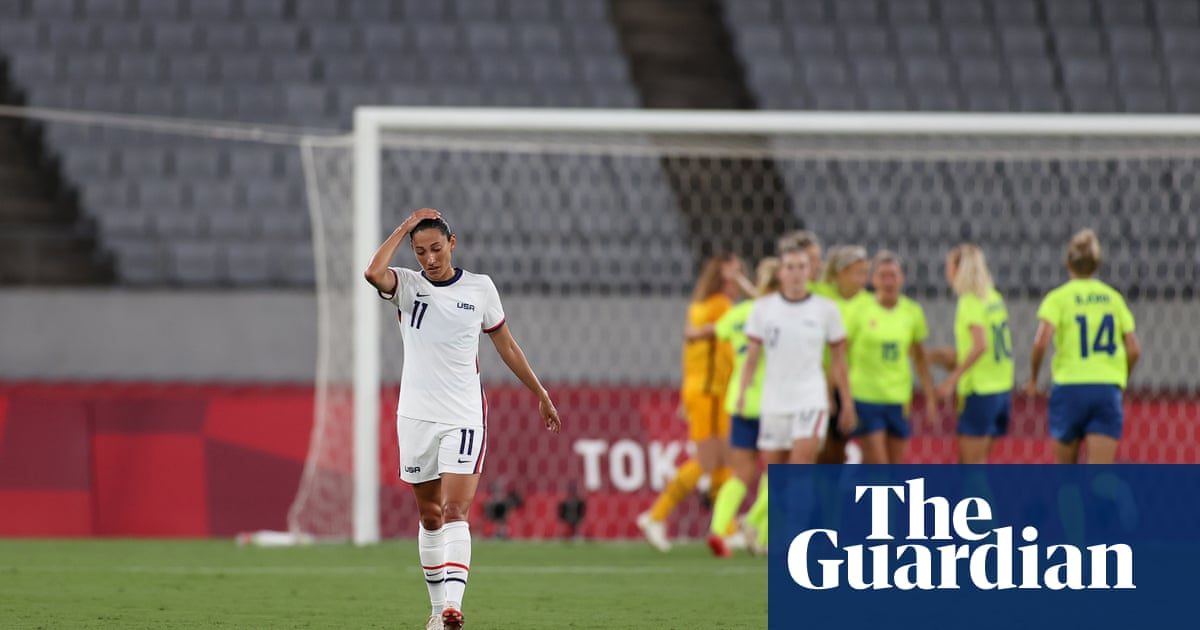 Sweden come back to haunt USWNT again in shock Olympic thrashing