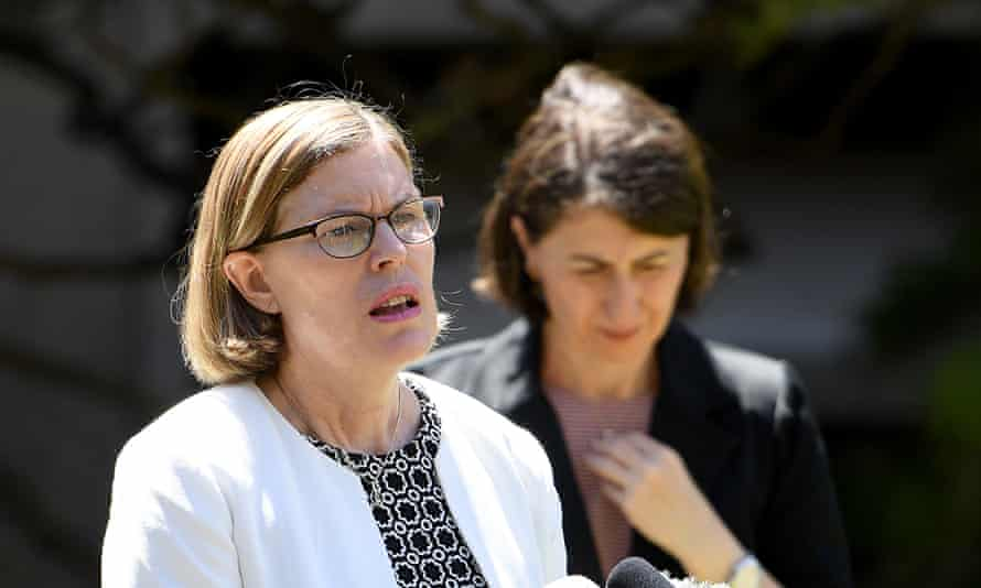 NSW chief health officer Dr Kerry Chant (left) and premier Gladys Berejiklian are concerned coronavirus testing numbers are too low as the state reported six new cases of community transmission, and a growing number of cases with no known links to others.