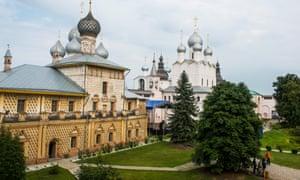 The Kremlin of Rostov Velikiy, Russia.