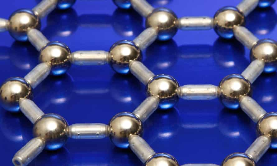 A model of the molecular structure of graphene