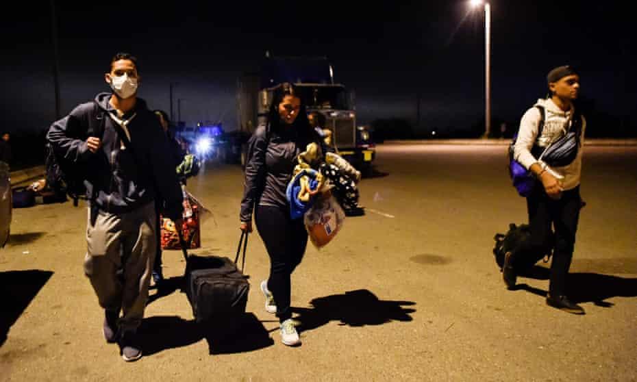 The UN estimates 2.3 million Venezuelans have left the country since 2015.