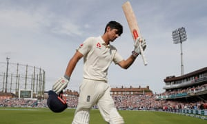 Alastair Cook brings the curtain down on his England career with 147 against India at the Oval.